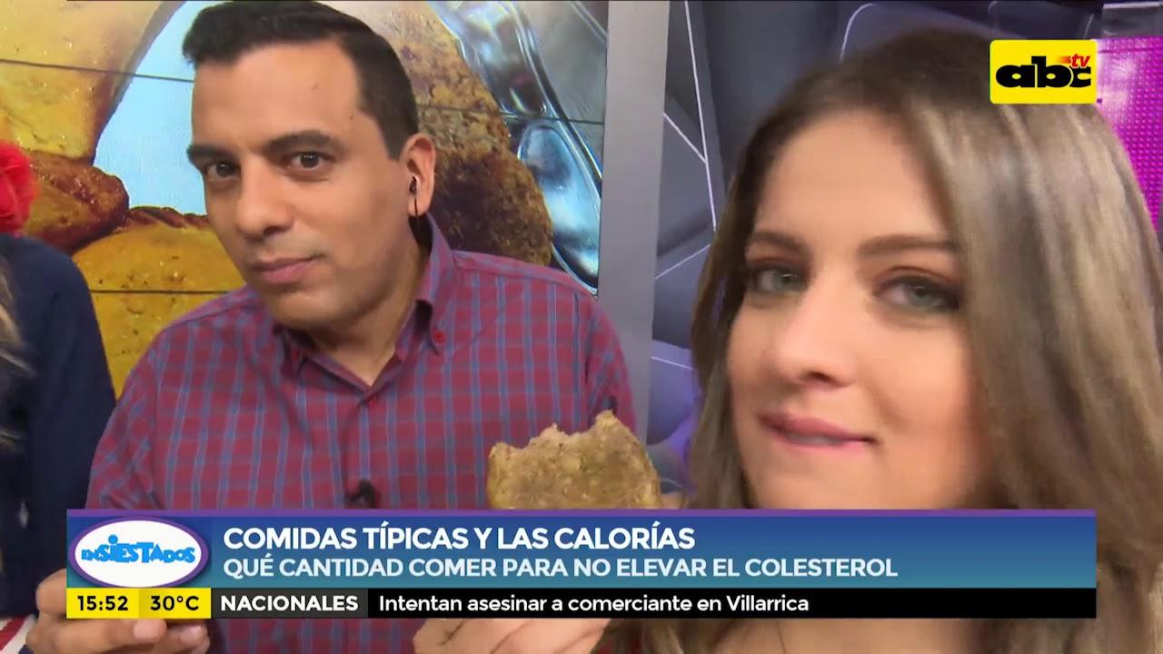 Comidas típicas y las calorías