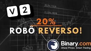 Ganhe 20% de Profit em alguns minutos com o Robô Reverso!