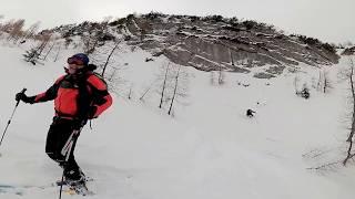 Skitour Hochfeldscharte (Sittersbachtal) 2018