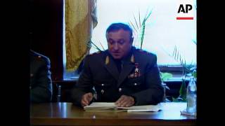Russia - Pavel Grachev In Case-Fire Negotiations