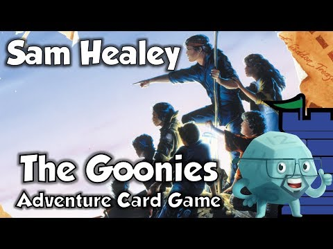 The Goonies Adventure Card Game Review with Sam Healey