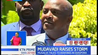 Musalia Mudavadi raises storm over Uhuru - Raila handshake