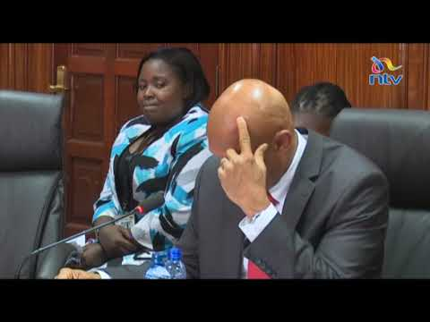 EACC CEO nominee Twalib Mbarak breaks down during vetting by MPs