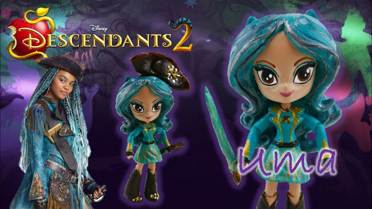 Disney Descendants 2 Movie UMA Doll Custom Toy Tutorial