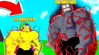 My BIG BROTHER TOOK OVER THE SERVER.. I had to become the STRONGEST GIANT
