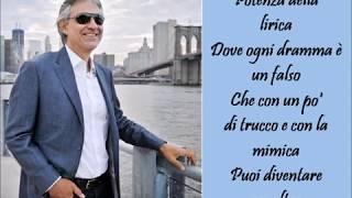 Caruso - Andrea Bocelli - (Lyrics)