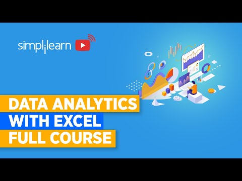 Data Analytics With Excel Full Course - YouTube