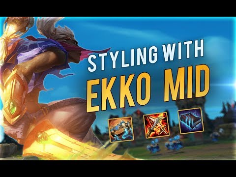 EKKO is just TOO STRONG | Preparing for Season 9
