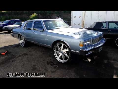 """1989 Chevrolet Caprice Classic on 26"""" Rucci Forged Backwood Wheels"""