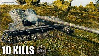 Вафлепазик ТАЩИТ бой 🌟 медаль Колобанова, 10 фрагов 🌟 World of Tanks Waffenträger auf Pz. IV