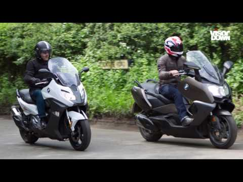 BMW C650GT & C650 Sport Review Motorcycle Road Test
