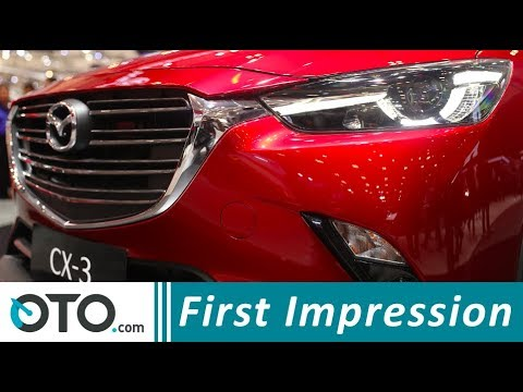 Mazda CX-3 | First Impression | GIIAS 2018 | OTO.com