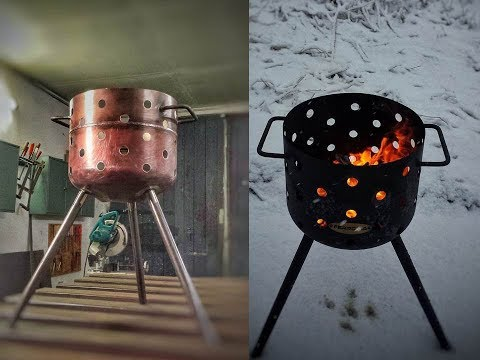 🔥 Feuerkorb selber bauen - DIY