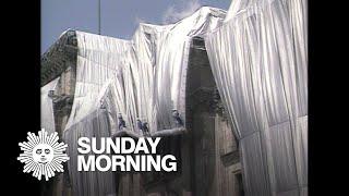 From 1995:  Christo & Jeanne-Claude put Berlin's Reichstag under wraps