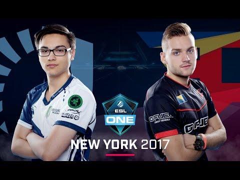 CS:GO - Team Liquid vs. FaZe [Overpass] Map 2 - Grand Final - ESL One New York 2017