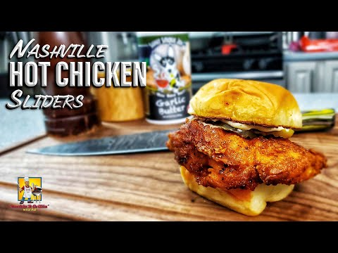Nashville Hot Chicken Sliders | Spicy Chicken