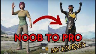 Noob To Pro ASSAULTER Journey | Montage | PUBG Mobile.