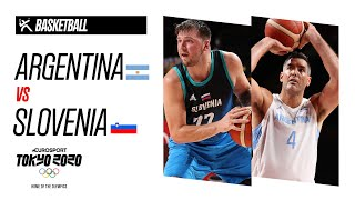 LUKA DONCIC 48 POINTS | ARGENTINA vs SLOVENIA - Highlights | Olympic Games - Tokyo 2020