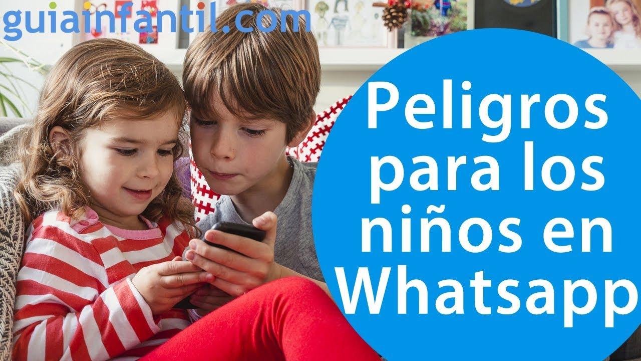 Los peligros y los delitos de los niños en Whatsapp | #ConectaConTuHijo