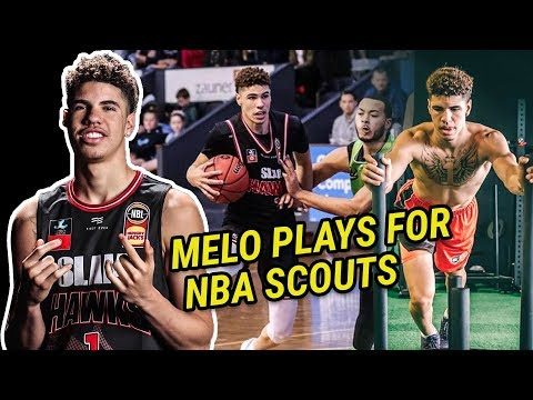 LaMelo Ball DOMINATES In Front Of 27 NBA SCOUTS! Goes After 6x Defensive Player Of The Year 😱