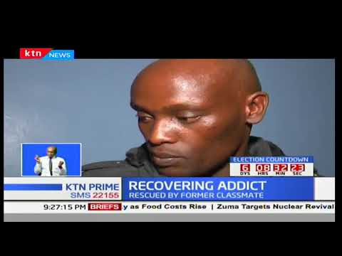 Former street boy addicted to drugs rescued by former classmate
