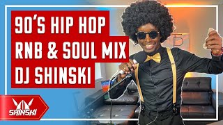 🔴 LIVE 80s 90s Old school Hip Hop, Soul, Funk, RnB Mix – Dj Shinski Friday Live Overdose Party