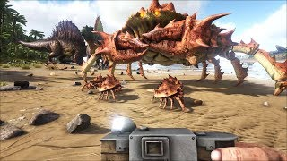ARK: Survival Evolved Online #24 - Thế Giới Của Khủng Long Baby =))