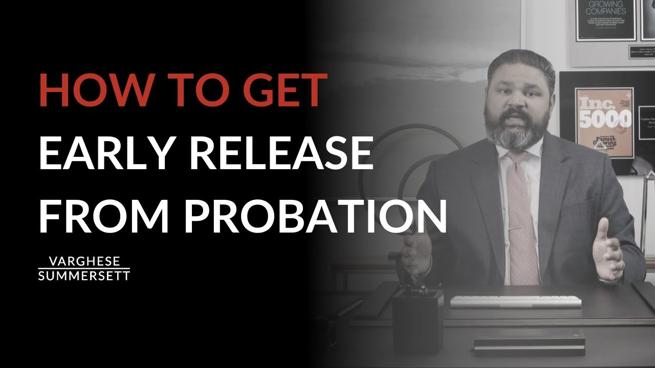 Video: Can You Get Early Release from Probation in Texas?