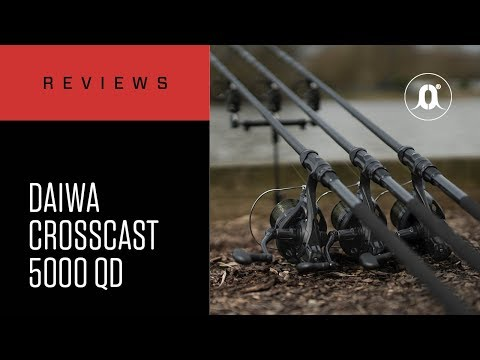 CARPologyTV - Daiwa Crosscast Carp 5000 QD Reels Review