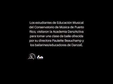 Watch videoYo decido bailar y educar en Puerto Rico