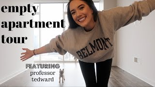 I moved to Nashville! Here's my empty apartment tour!