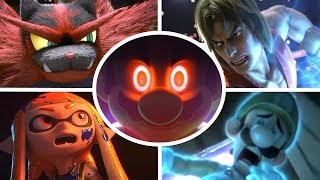 Super Smash Bros Ultimate All Cutscenes Cinematic Movie All Characters Trailers (Switch & Wii U)