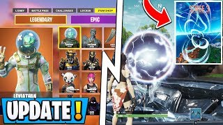 *NEW* Fortnite Update! | S10 New Item Shop, Map Explosion, PS4 Tournament!