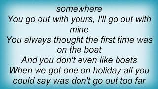 Arab Strap - The Long Sea Lyrics