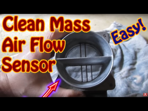Download How To Clean Replace A Mass Air Flow Maf Sensor On