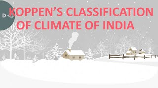Koppen's Classification of Indian Climate