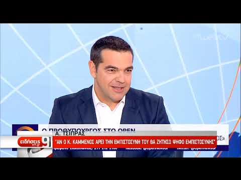 Αλ. Τσίπρας: Όλοι να αναλάβουν τις ευθύνες τους απέναντι στην Ιστορία   9/1/02019   ΕΡΤ