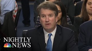 Top Dem Refers Confidential Information About Kavanaugh To Federal Authorities | NBC Nightly News
