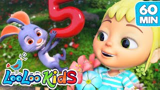 Number Song - Nursery Rhymes for Children | LooLoo Kids