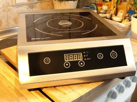 Bartscher Induktionsplatte, die mit 3500W, mein neues Spielzeug :-)