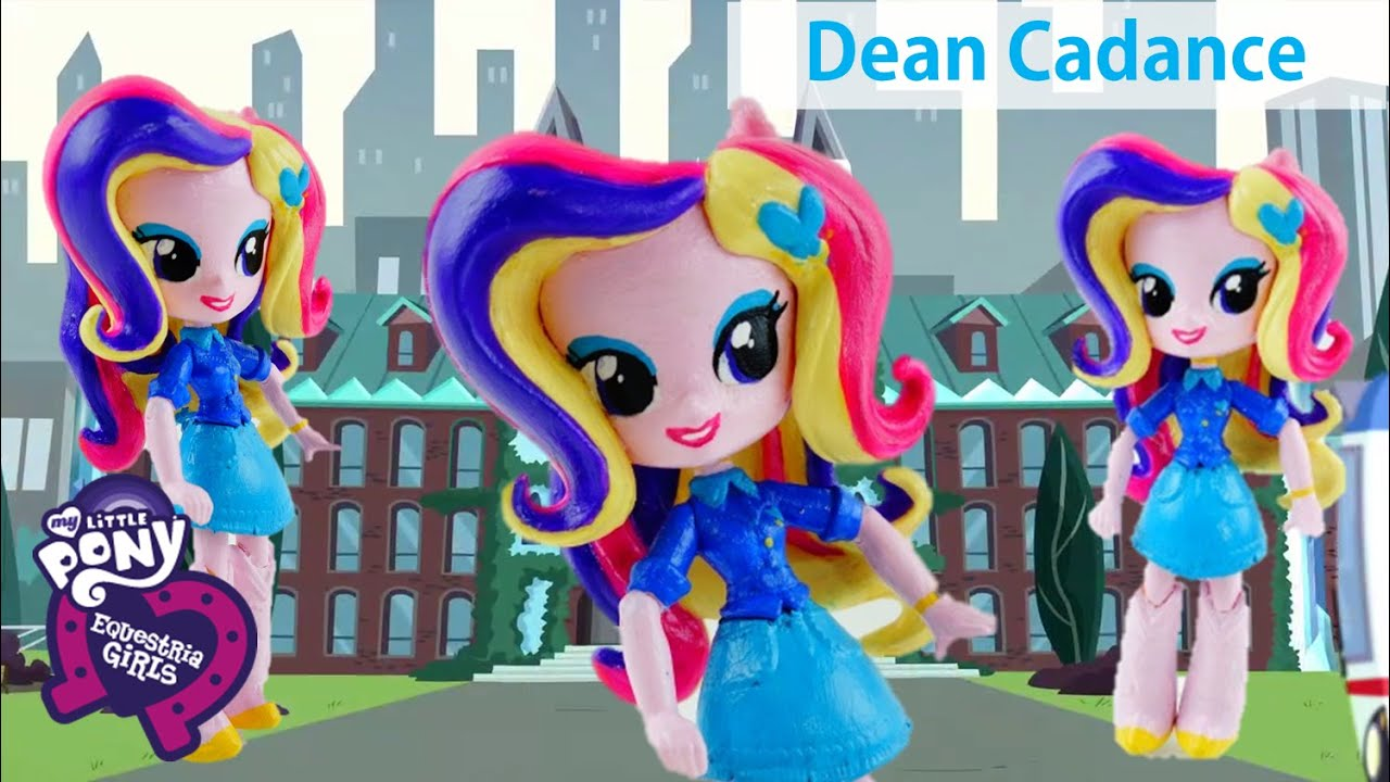 *OLD* Dean Cadance Princess Cadance Custom Doll from My Little Pony Equestria Girls Minis Tutorial