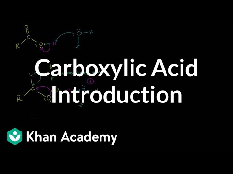 A thumbnail for: Carboxylic acids and derivatives