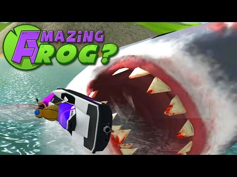 Amazing Frog - GIANT SHARK - PC Gameplay Part 19