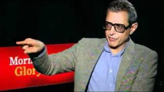'Morning Glory' Jeff Goldblum Interview