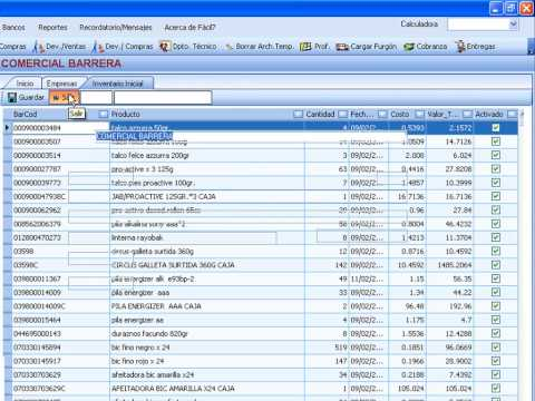 SOFTWARE ADMINISTRATIVO CONTABLE FÀCIL7