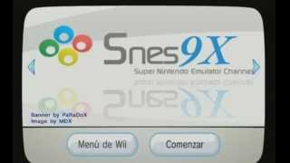 TUTORIAL] How to install SNES (snes9xgx) on the Wii