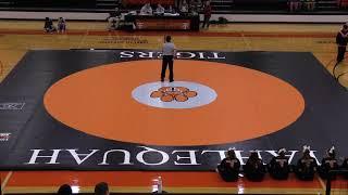 January 31, 2019 Tahlequah Tiger Wrestling vs. Sequoyah Indians