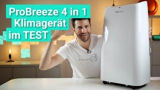 ProBreeze 4 in 1 mit 12.000 BTU - Die smarte Klimaanlage im Test!