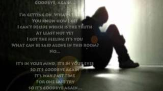 Vertical Horizon - Goodbye Again (with lyrics)