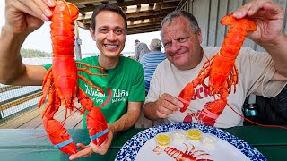 The Ultimate LOBSTER ROLL Tour!! 🦞🥖 Best Lobster Shacks in Maine, USA!!